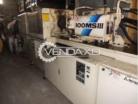 Mitsubishi 100MSIII Injection Moulding Machine - 100 Ton
