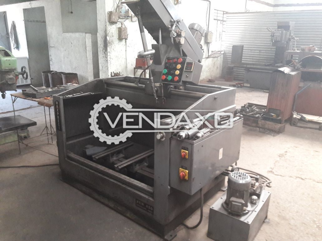 Maxpreci VCH-450 Block Honning Machine