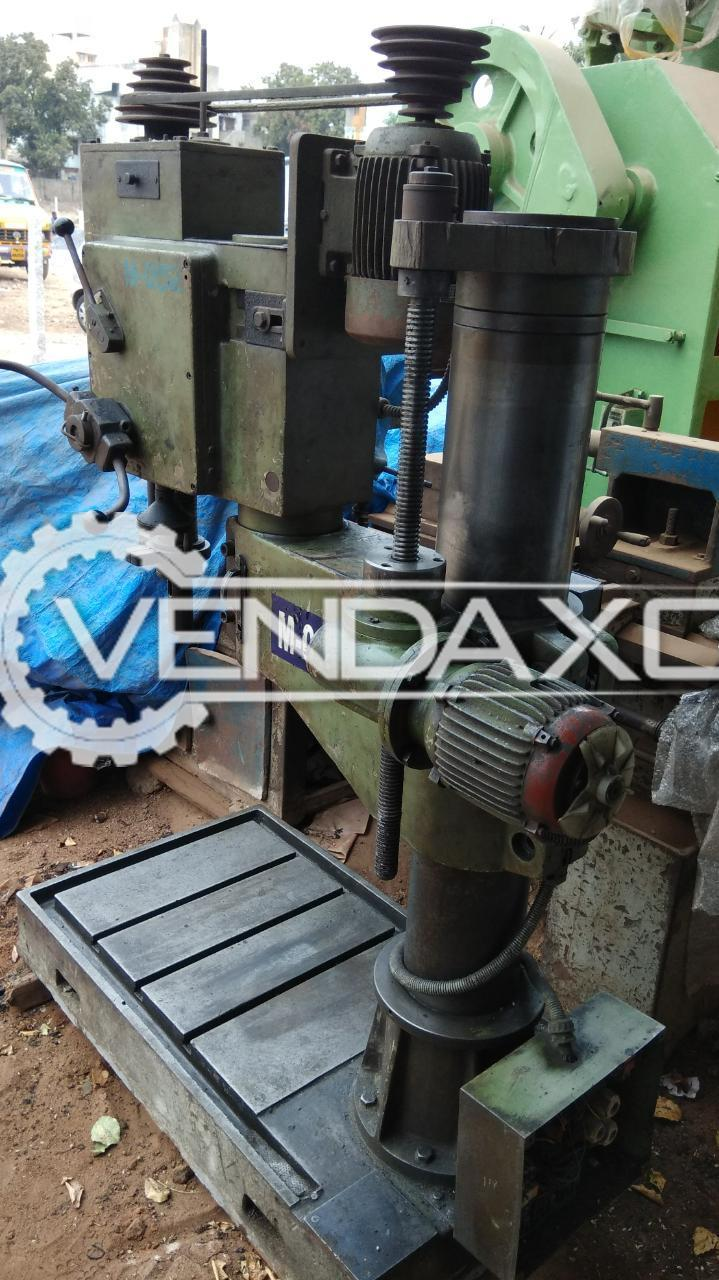 Used Eifco Radial Drill Machine - 32 mm for Sale at Best