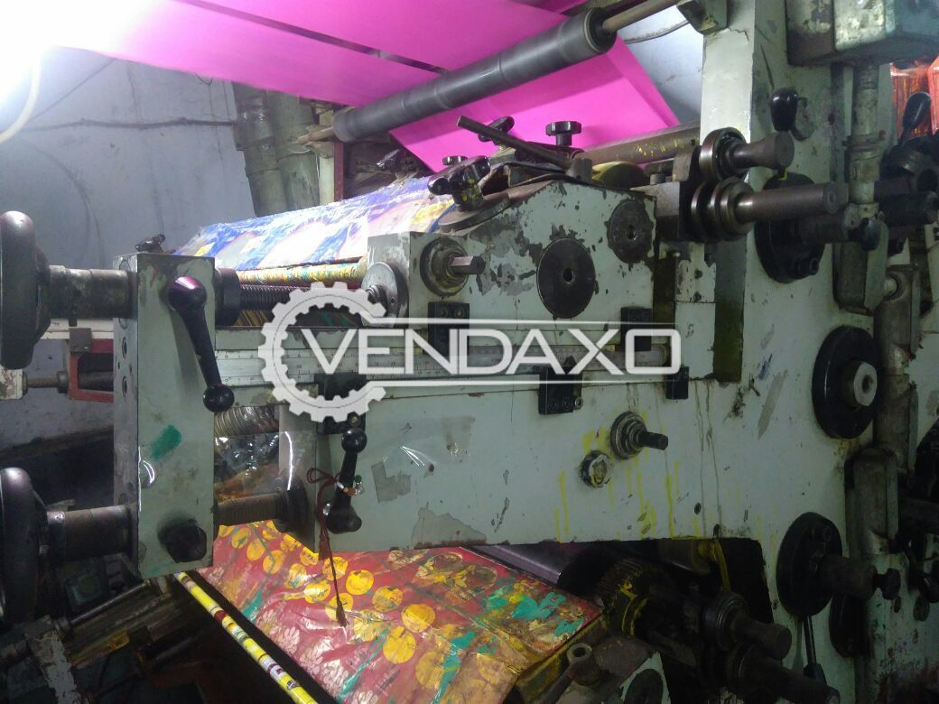 C I 4 color printing machine 990 MM Zodiac Pathne Italy