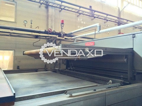 Zimmer Flat Bed Printing Machine - 320 CM, 16 Color