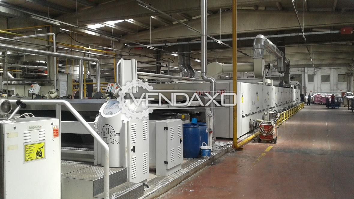Dilmenler 10 Chamber Stenter Machine - 240 CM