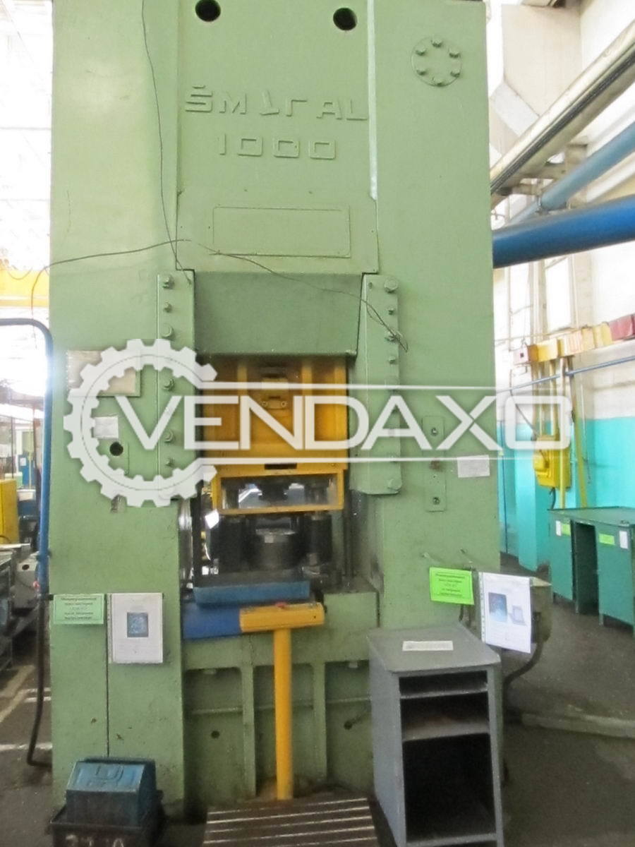 Used Smeral LL-1000 Knuckle Joint Press - 1000 Ton for Sale
