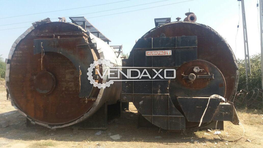 Huskpac Steam Boiler - 4 Ton