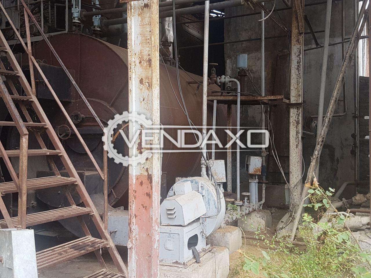 Multi Fuel Steam Boiler - 4 Ton