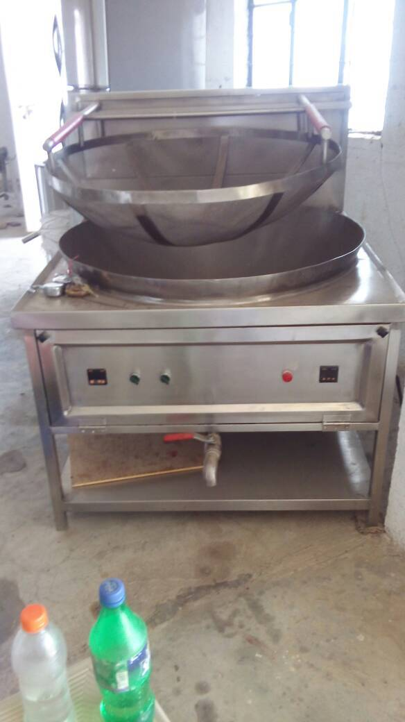Food Machinery - Kadai Fryer with Basket