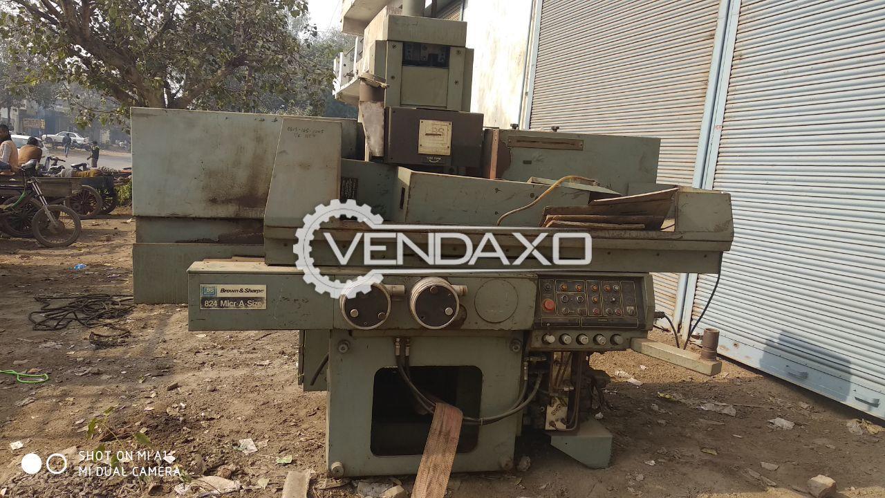 Brown & Sharpe Hydraulic Surface Grinder Machine