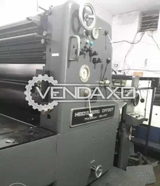 Heidelberg Offset Printing Machine - 28 x 40 Inch