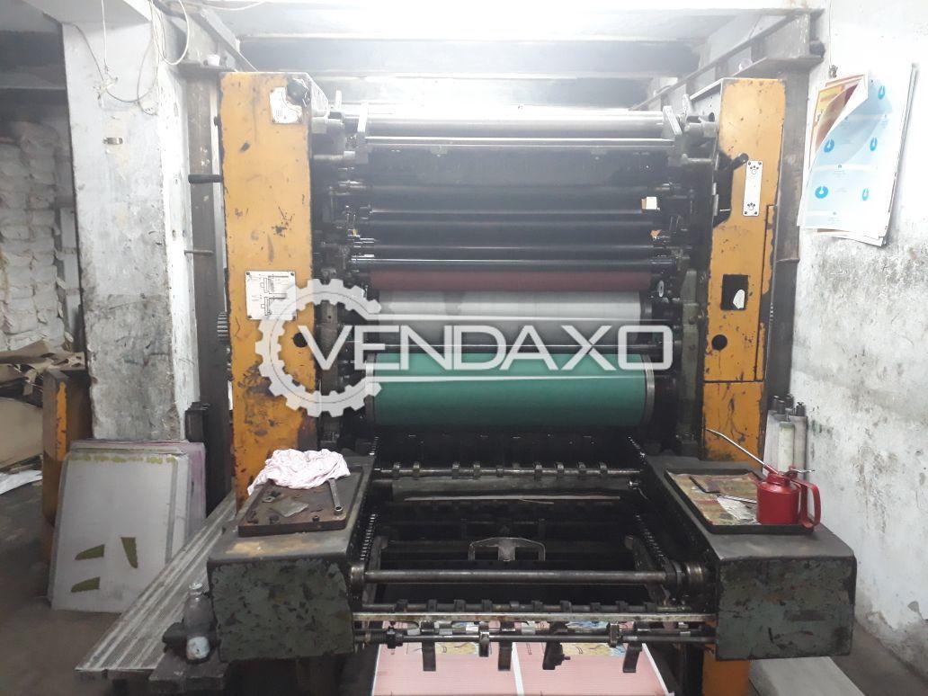 Solna Offset Printing Machine - 4 Color