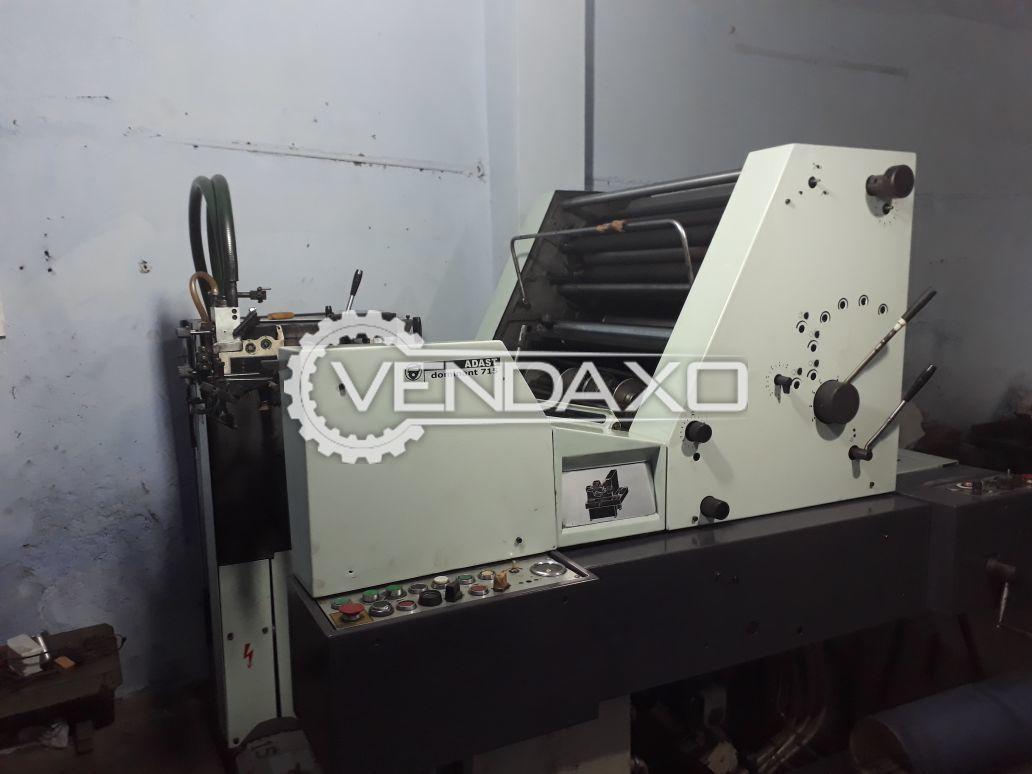 Adast Dominant 715 Single Color Offset Printing Machine