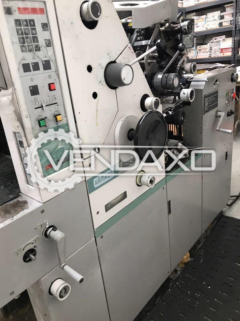 Hamada RS34 Mini Offset Printing Machine - 13 x 17 Inch