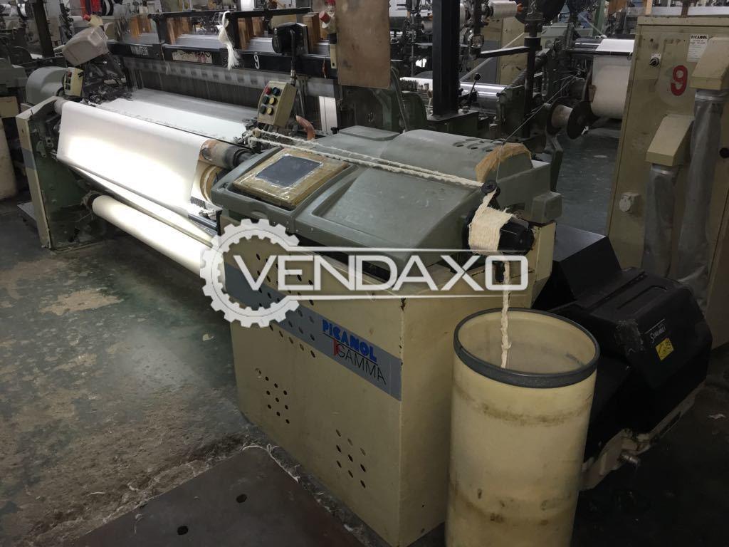 Picanol GAMMA-8-R Rapier Loom Machine - 190 CM, 8 Color