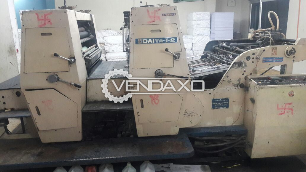 Mitsubishi Daiya-I Offset Printing Machine - 2 Color