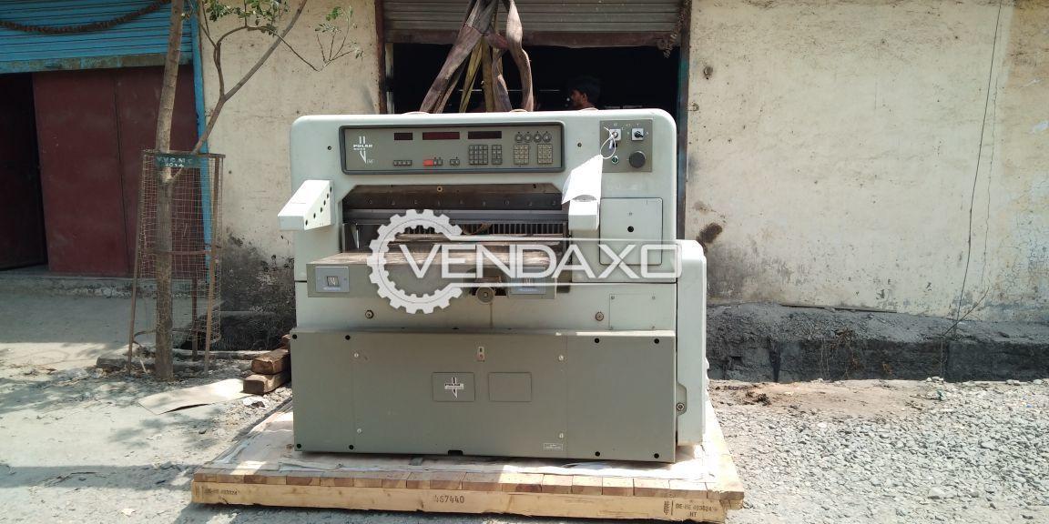 Polar 92 emc paper cutting machine  2