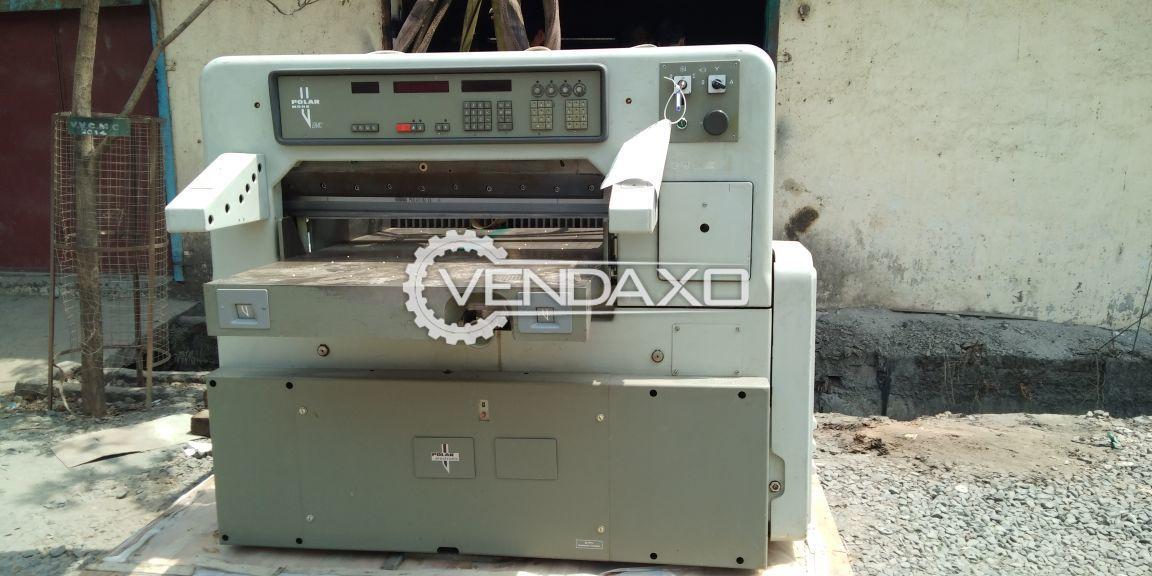 Polar 92 emc paper cutting machine 3