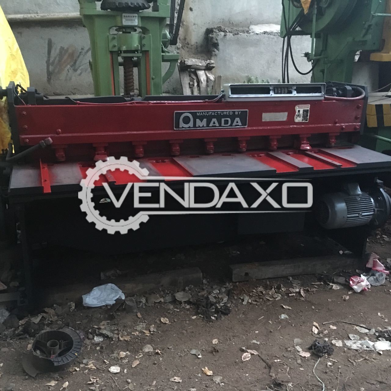 Amada Mechanical Shearing Machine - 4 MM