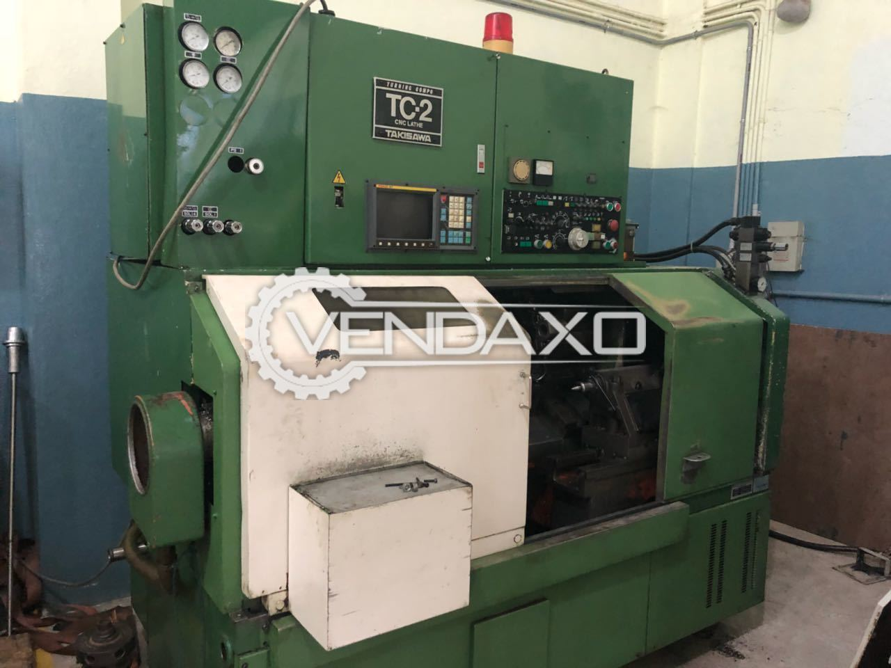 Takisawa tc2 cnc lathe machine