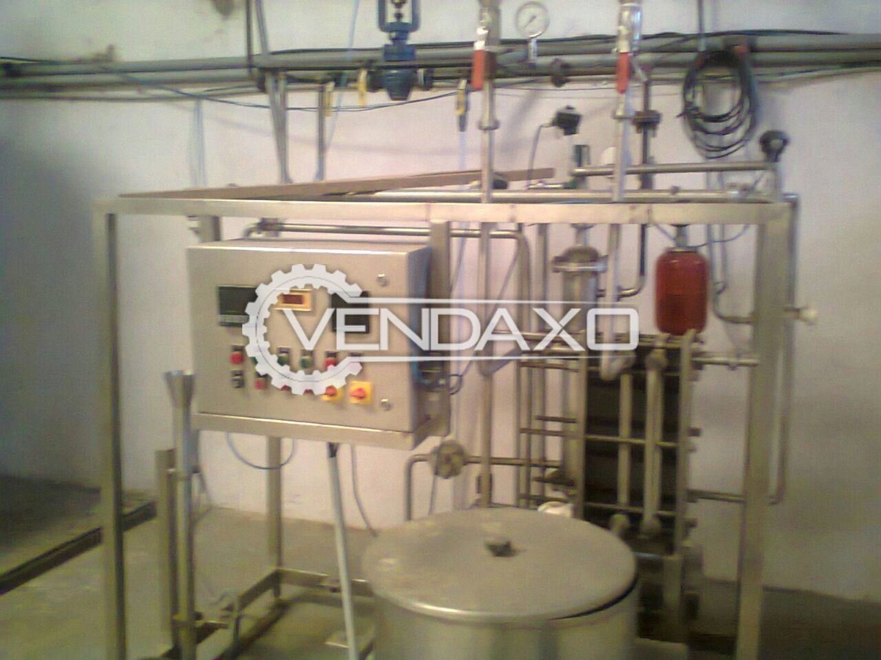 Complete Milk Processing & Packaging Plant