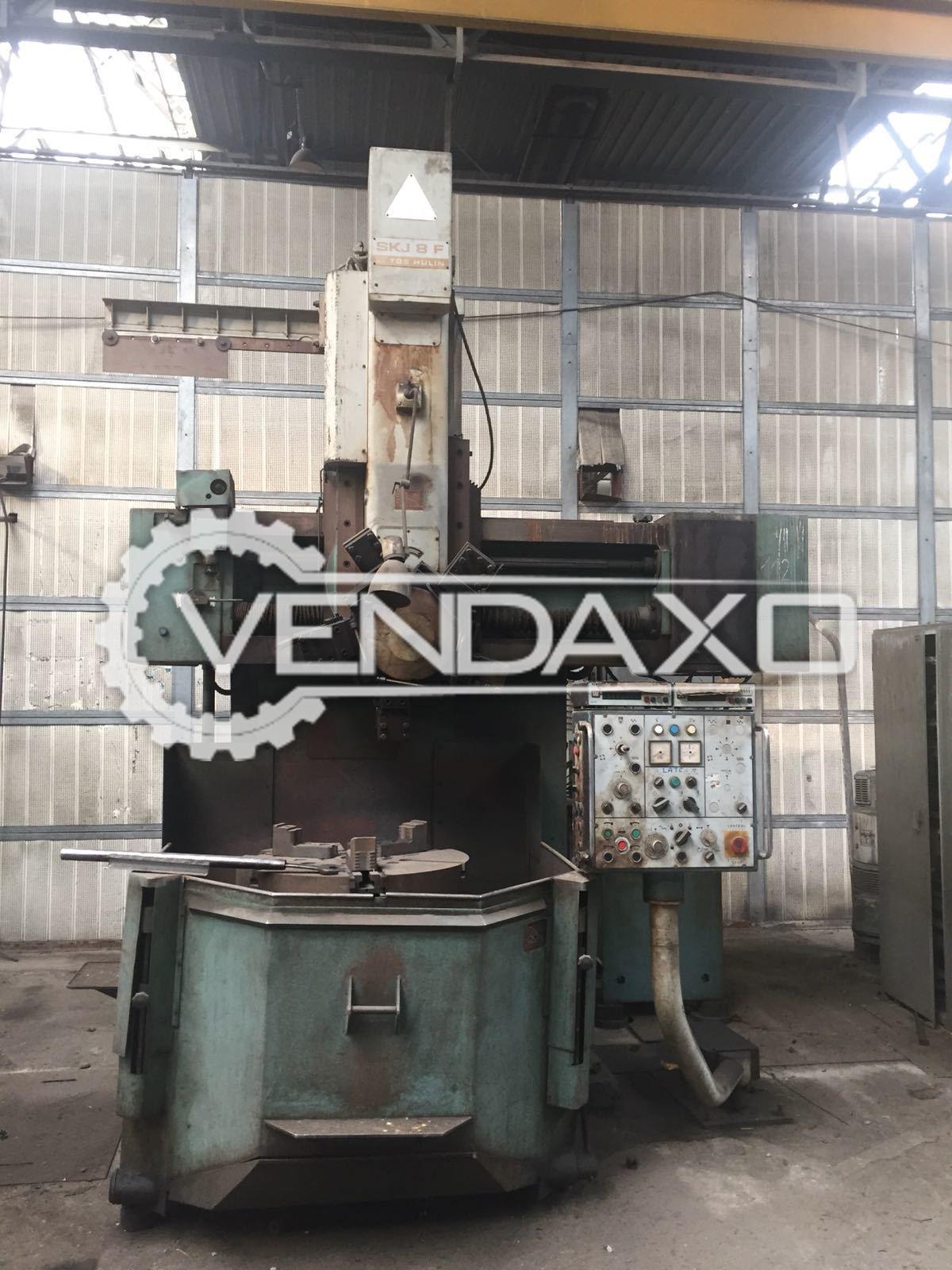 TOS SKJ8 Vertical Turning Lathe Machine