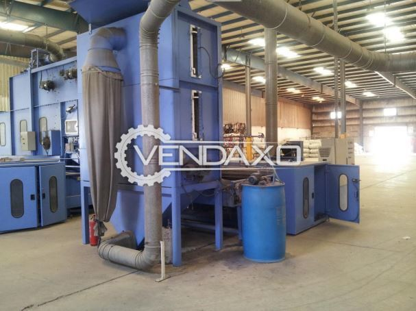 Masias Maquinaria Sa Fiber Blending Machine, Pre-Needling Machine, Pad Forming Line and Calendar Machine - Complete Plant