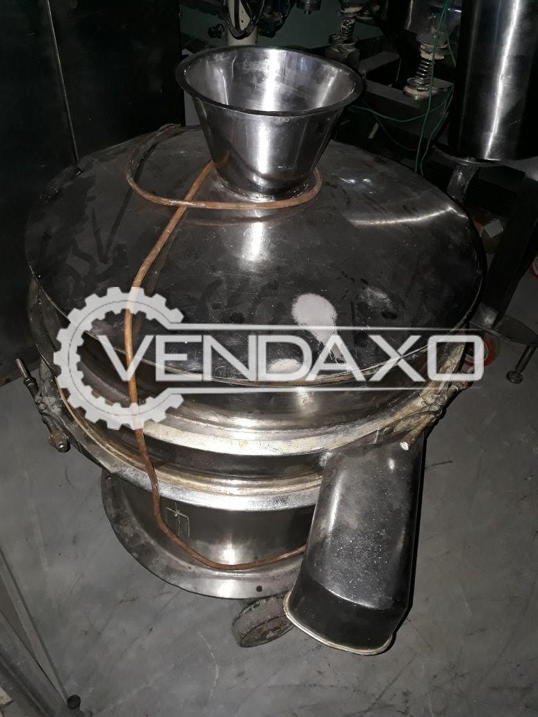 GMP Vibro Sifter- 30 Inch