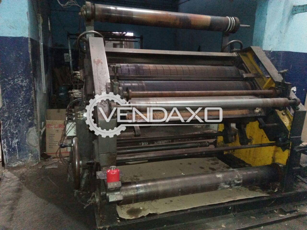 Super sujata paper cutting machine   52 inch 3