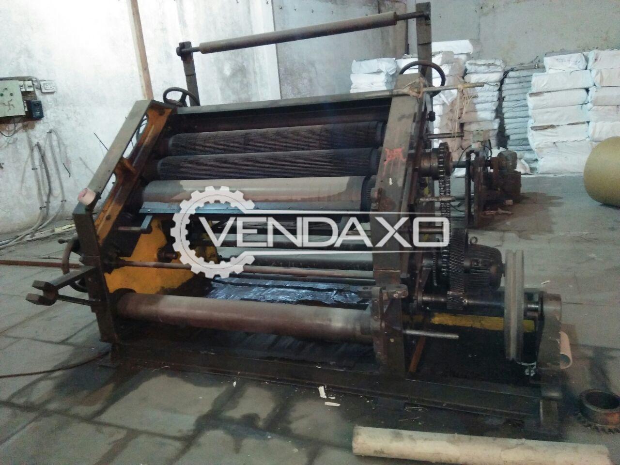Super sujata paper cutting machine   52 inch 4