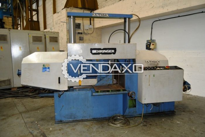 Behringer HBP 530 A Horizontal Bandsaw Machine - 530 MM