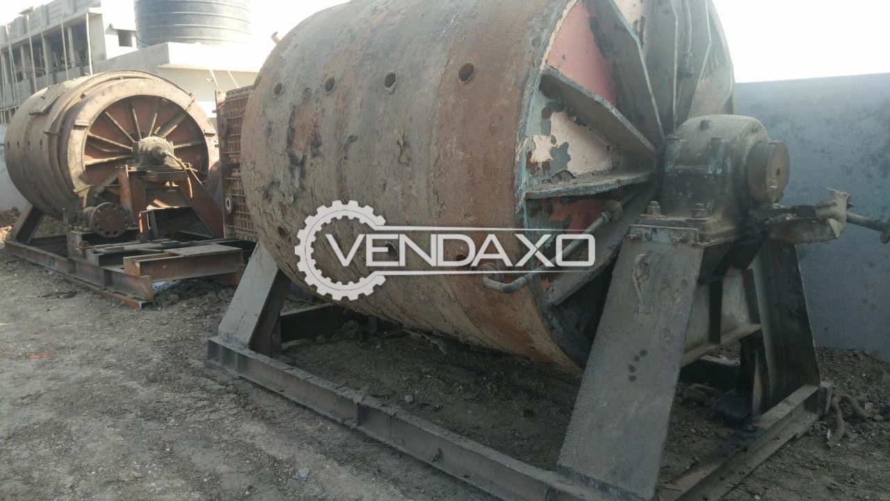 MS Ball Mill with Gear Motor - 5 KL