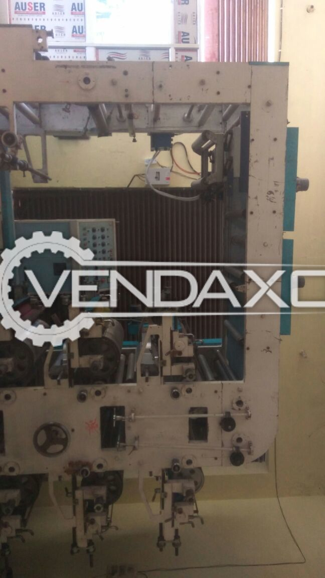 Mahindra Flexographic Printing Machine - 6 Color