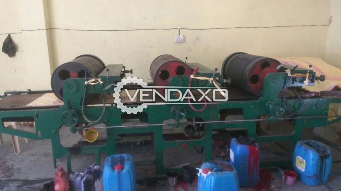 Drum Type Printing Machine - 3 Color