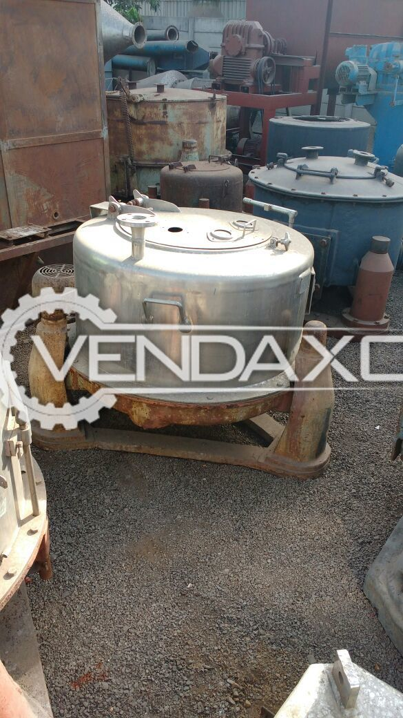 Centrifugal Separator - 500 KG/HR