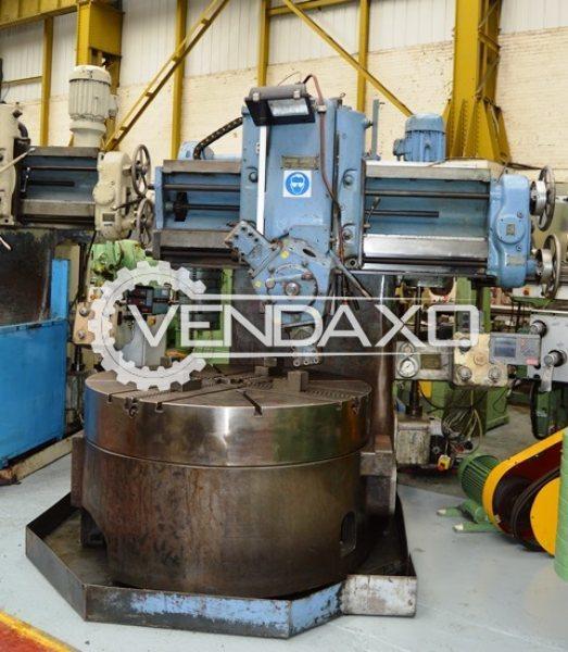 Webster & Bennett 60″ DH Vertical Boring Machine