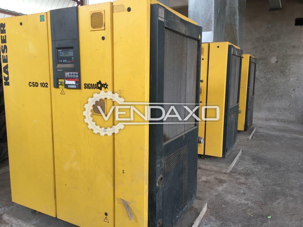 Kaeser CSD102 Rotary Screw Air Compressor