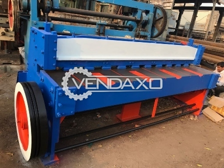 Weldor Mechanical Shearing Machine - 4 MM with length - 8 feet
