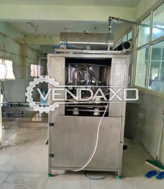 Complete 7 Stage Automatic Filling, Rinsing & Capping Machine - 20 Liter