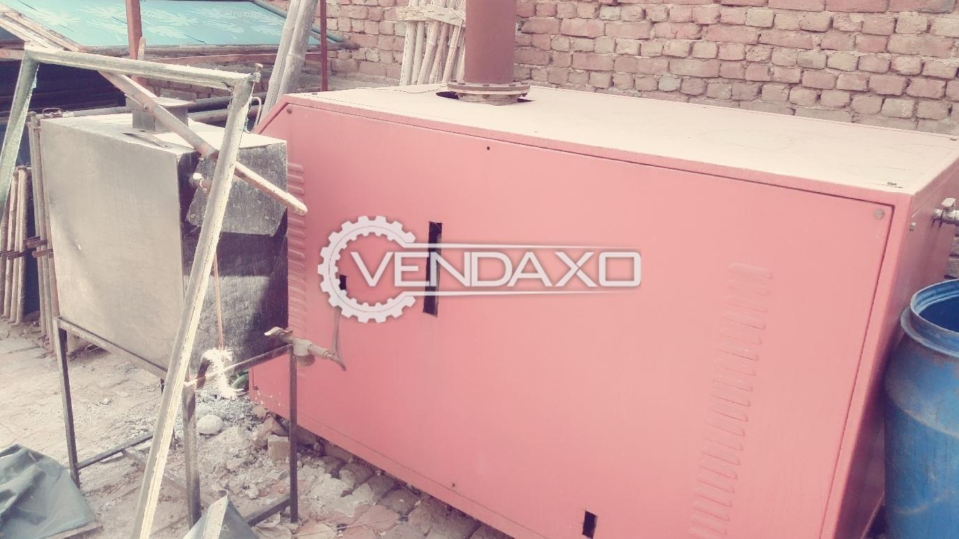 Steam Diesel Boiler 200 Kg