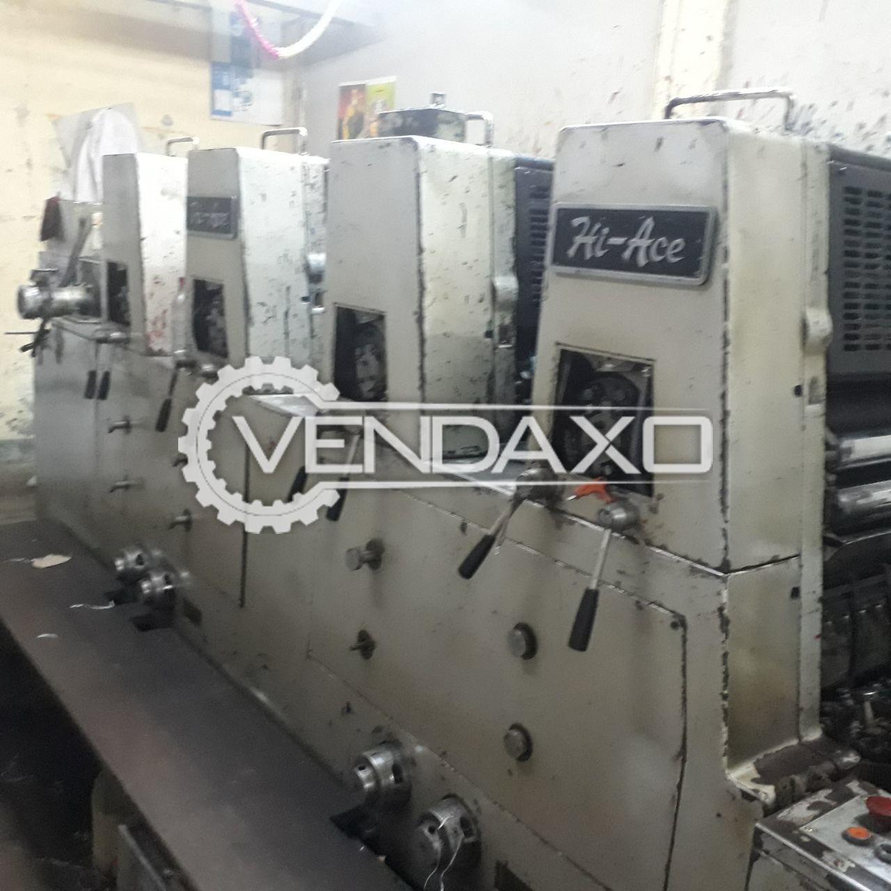 Akiyama Hi Ace Printing Machine - 20 x 27 CM