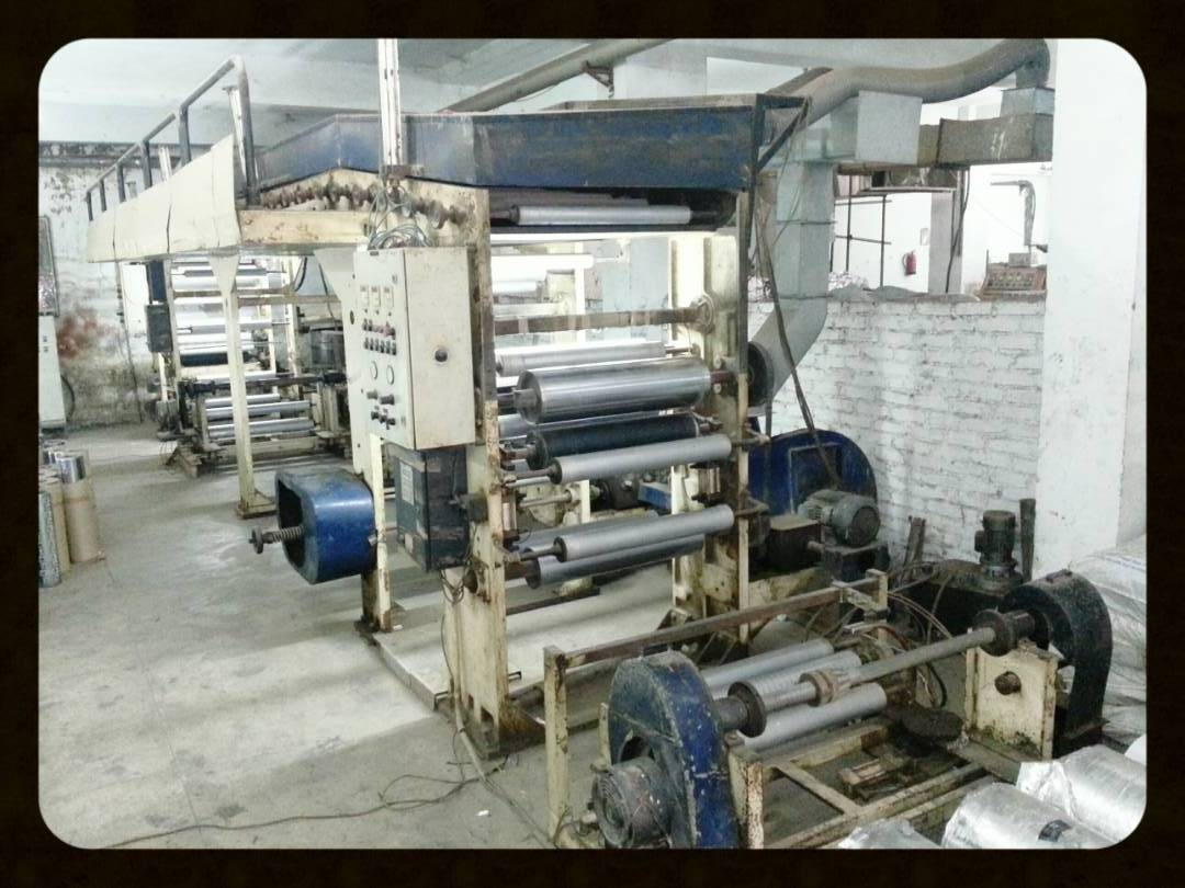 ROTOGRAVURE LAMINATION MACHINE