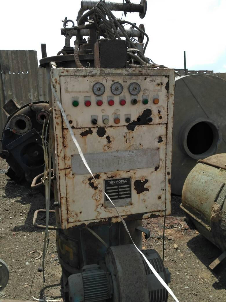 Thermic fluid heater with panel 3