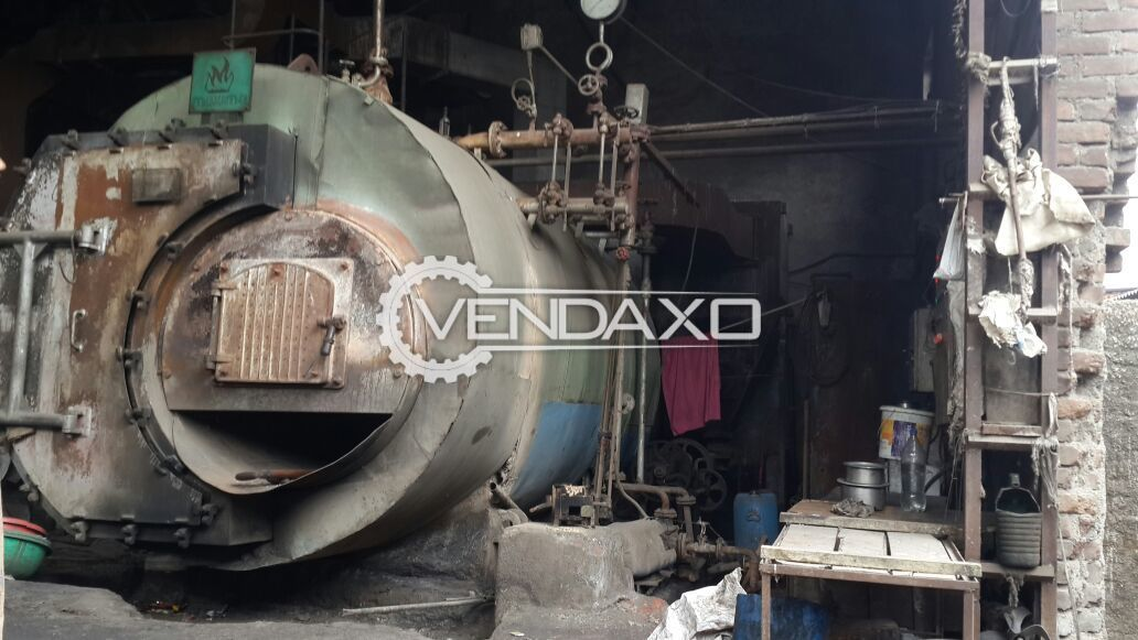 Maxima Single Furnace Package Steam Boiler - 3 TPH