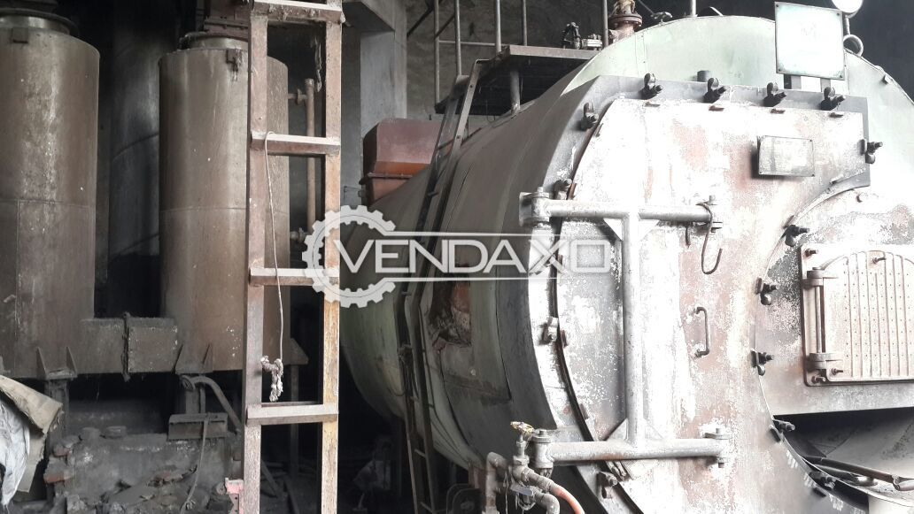 Used Maxima Single Furnace Package Steam Boiler - 3 TPH | Second ...