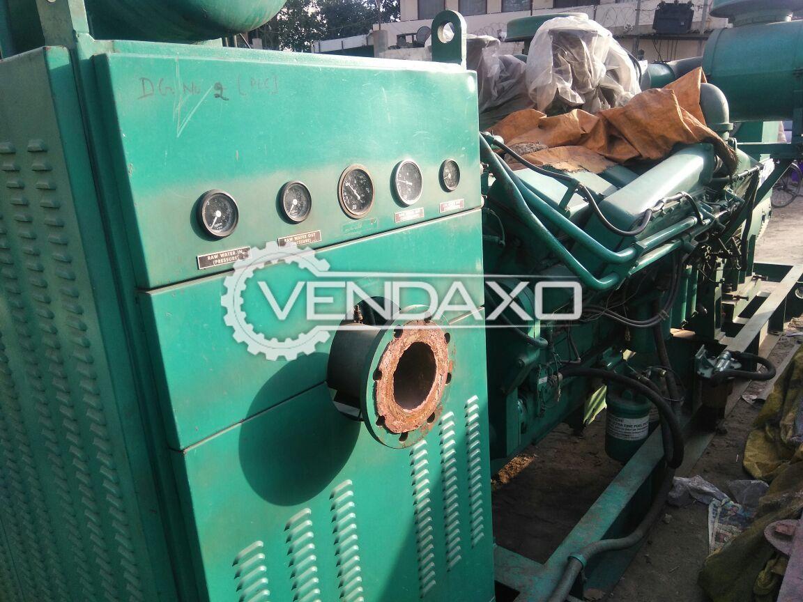 Cummins Sudhir Diesel Generator - 1250 KVA