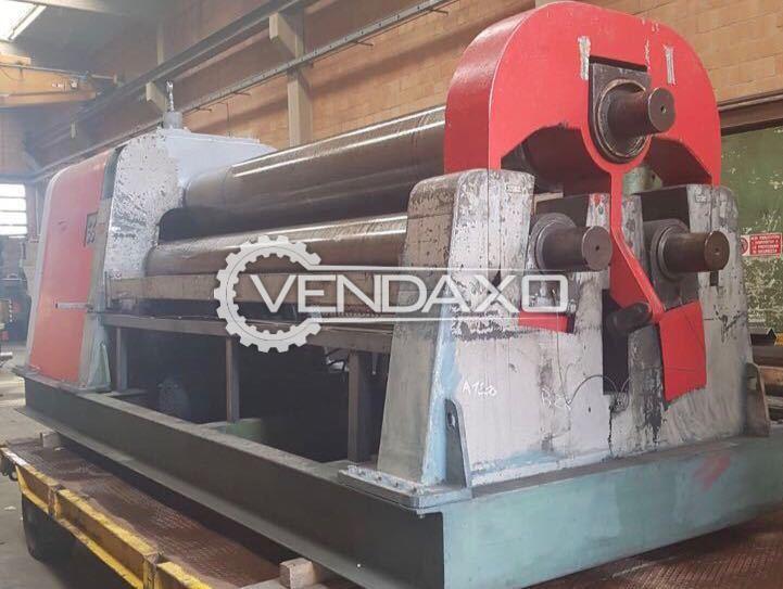 IMCAR Hydraulic Plate Rolling Machine - 3000 MM x 40 MM