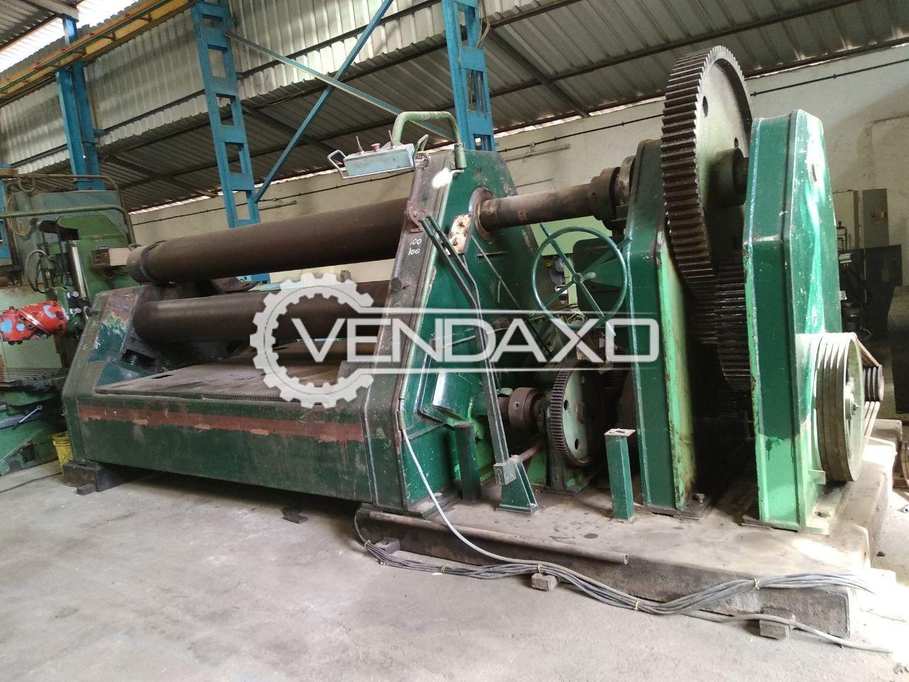 Laufer Plate Rolling Machine - 3000 MM x 40 MM