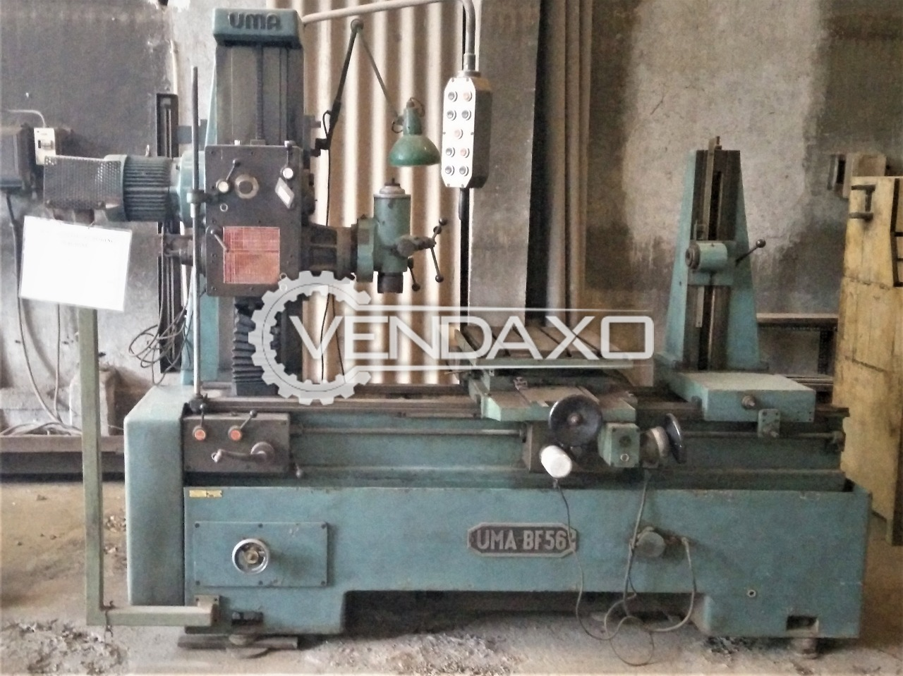 UMA BF-56 Horizontal Boring and Milling Machine