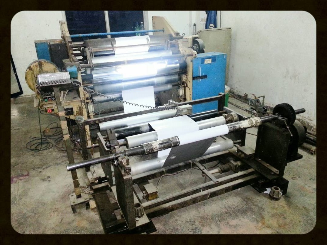 Slitting machine 1