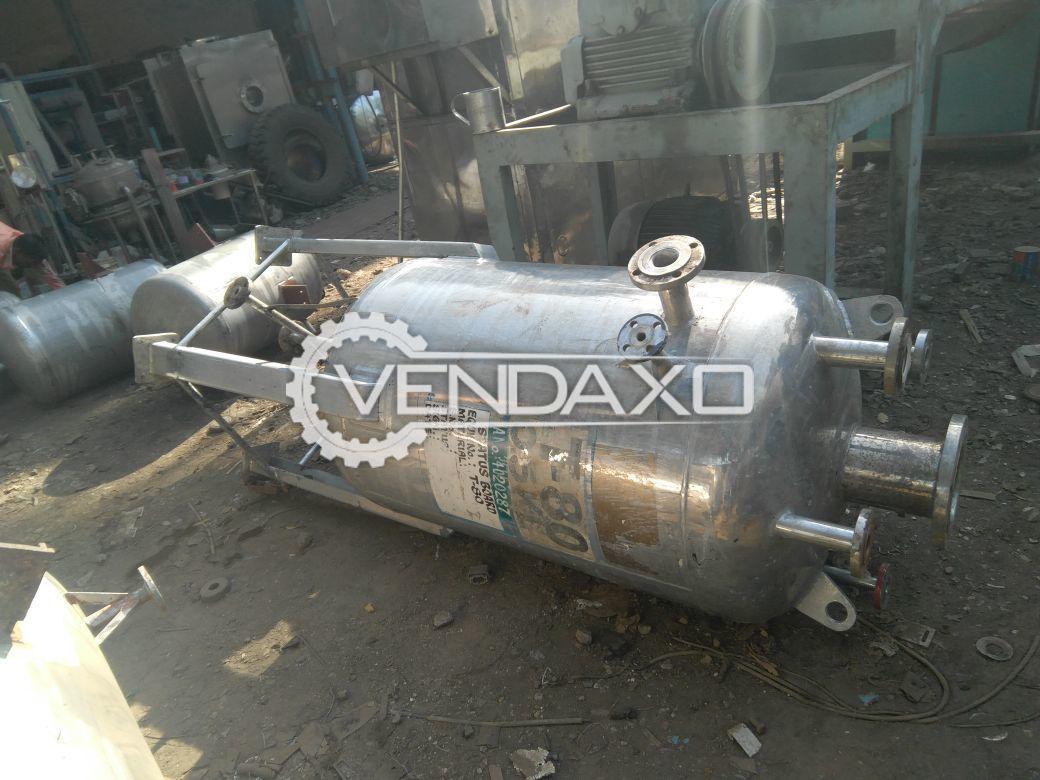 SS Vacuum Receiver - 500 Liter