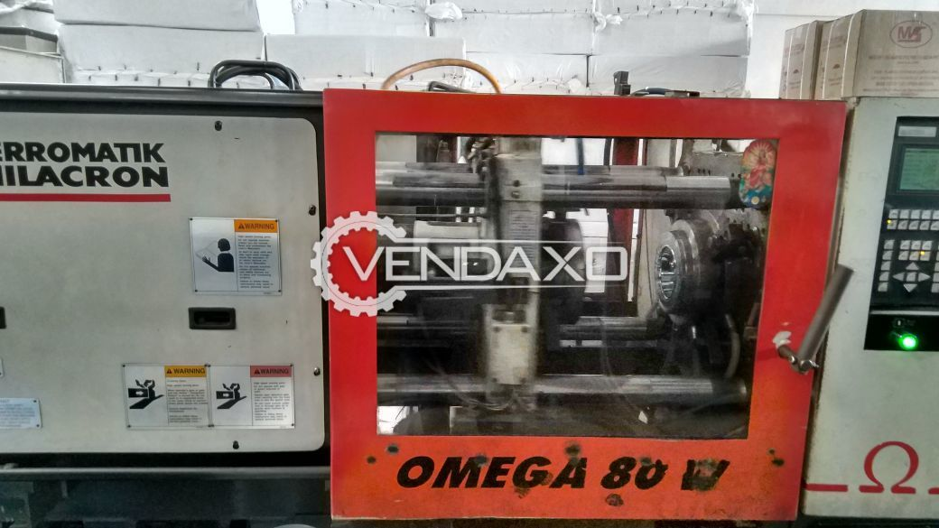 Ferromatik Milacron Omega A80 Injection Moulding Machine - 80 Ton