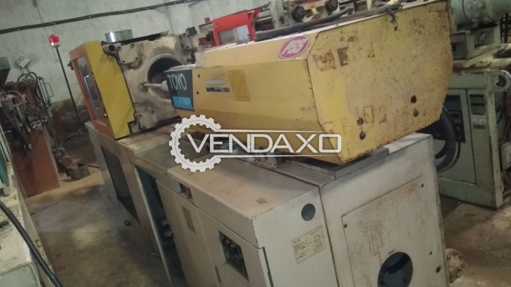 Toyo Injection Moulding Machine - 130 Ton